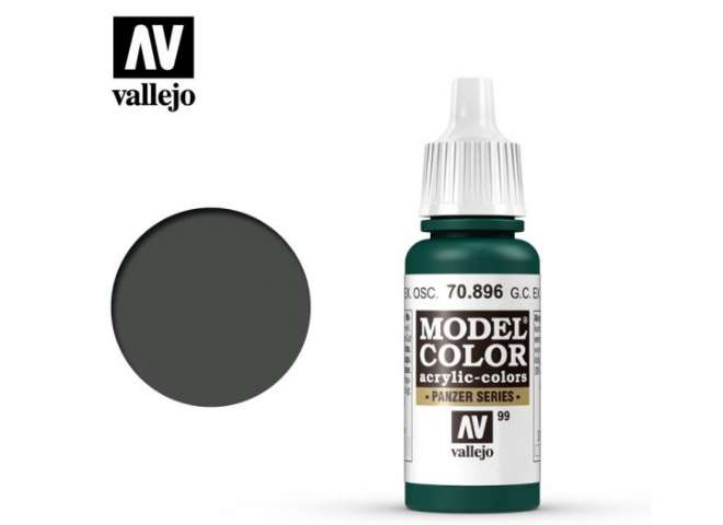 099 Model Color - German Cam Extra Dark Green 896