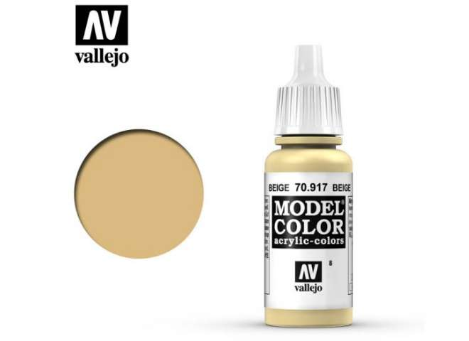 Vallejo 17ml 917 008 Model Color - Beige 917