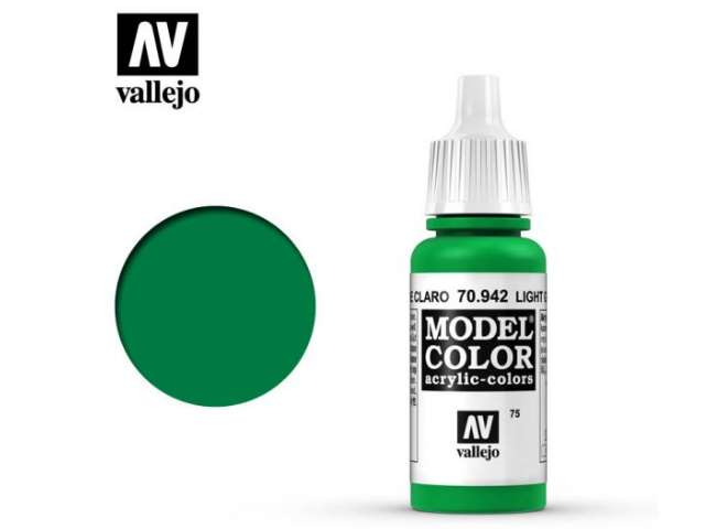 Vallejo 17ml 942 075 Model Color - Light Green 942