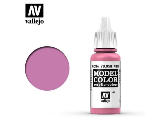 Vallejo 17ml 958 040 Model Color - Pink 958