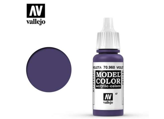 Vallejo 17ml 960 047 Model Color - Violet 960