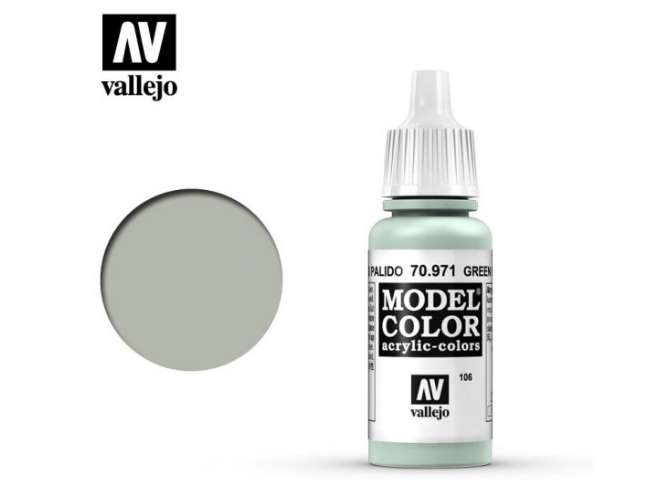 Vallejo 17ml 971 106 Model Color - Green Grey 971