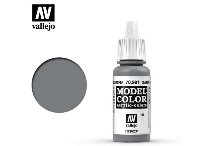 Vallejo 17ml 991 159 Model Color - Dark Sea Grey 991