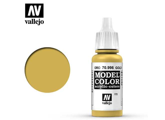 Vallejo 17ml 996 172 Model Color - Gold 996