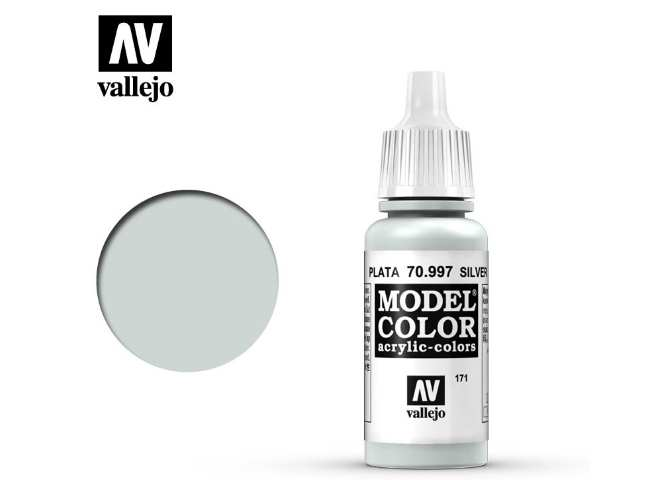 Vallejo 17ml 997 171 Model Color - Silver 997
