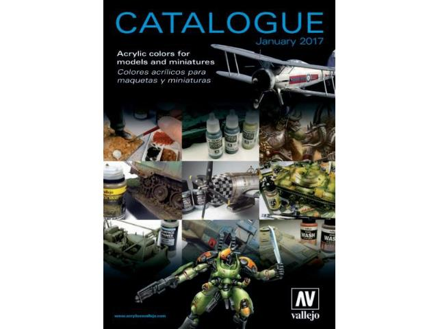 Vallejo na CAT2017 Catalogue 2017