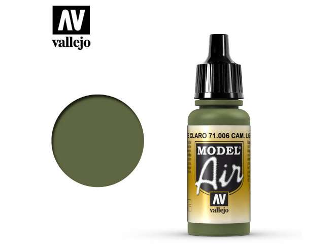 Vallejo 17ml MA006 Model Air - 006  Camouflage Light Green