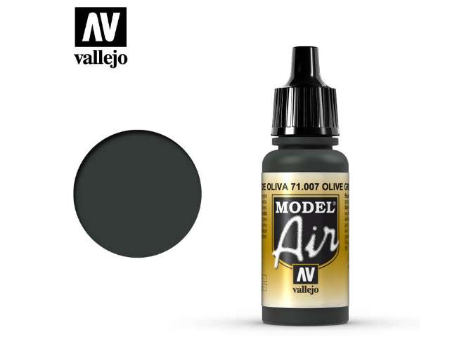 Vallejo 17ml MA007 Model Air - 007  Olive Green