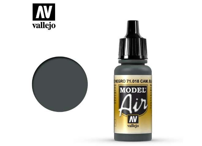 Vallejo 17ml MA018 Model Air - 018  Camouflage Black Green