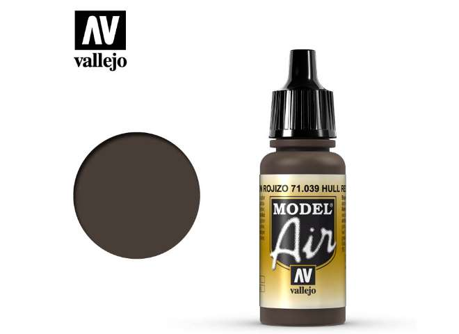 Vallejo 17ml MA039 Model Air - 039  Hull Red