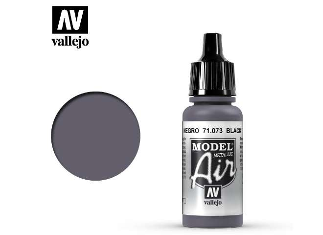 Model Air - 073  Black (Metallic)