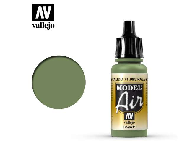 Vallejo 17ml MA095 Model Air - 095  Pale Green
