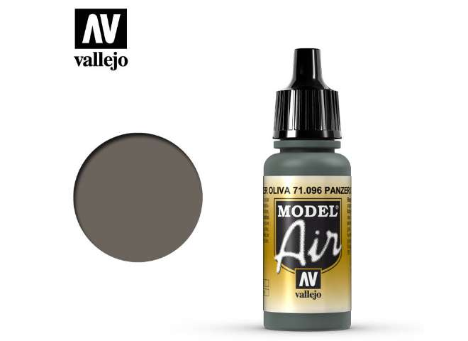 Vallejo 17ml MA096 Model Air - 096  Panzer Olive Green 1943