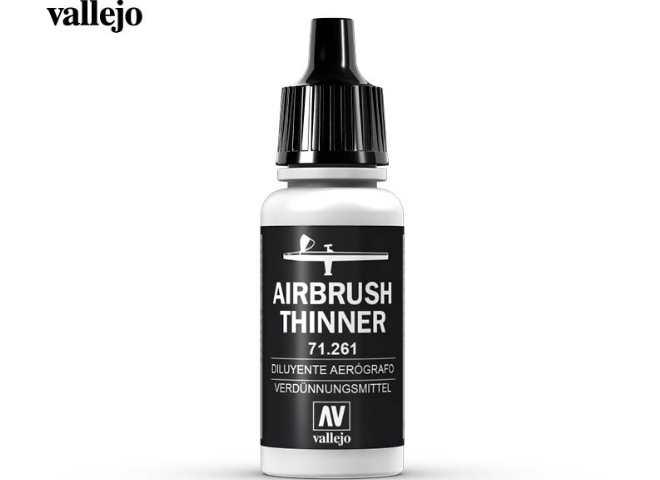 Vallejo 17ml MA261 Model Air - 71261 Airbrush Thinners 17ml