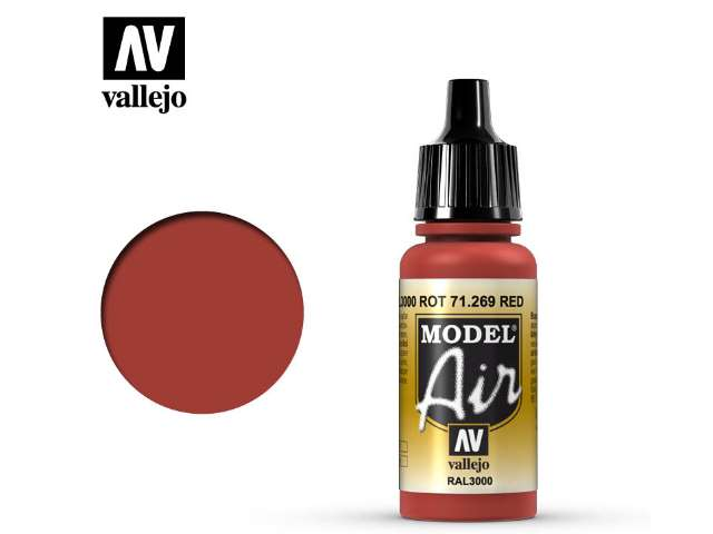 Vallejo 17ml MA269 Model Air - 269 Red