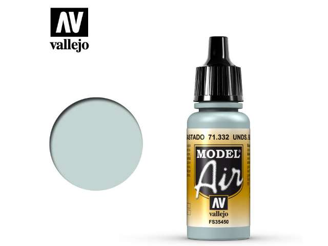 Vallejo 17ml MA332 Model Air - 332 Underside Blue Faded