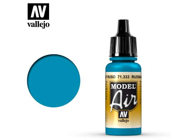 Vallejo 17ml MA333 Model Air - 333 Russian AF Blue