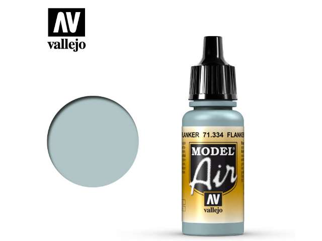 Vallejo 17ml MA334 Model Air - 334 Flanker Light Blue