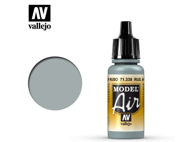 Vallejo 17ml MA338 Model Air - 338 Russian AF Grey Blue