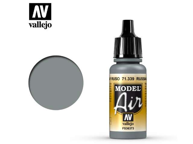 Vallejo 17ml MA339 Model Air - 339 Russian AF Grey N.3