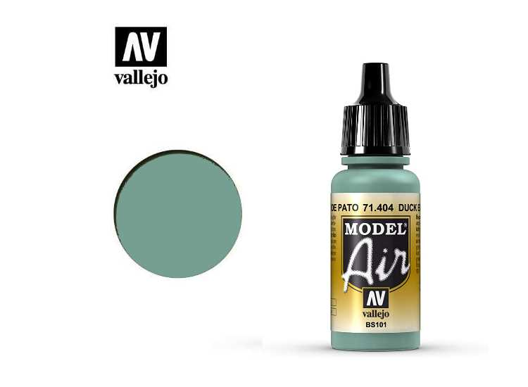 Vallejo Model Air - 404 No.1 Sky Blue/Duck Egg Blue MA404