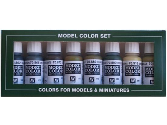 Model Colour Set No8 Panzer Colours (x8)
