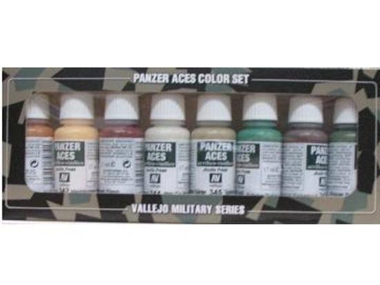 Vallejo Model Colour Set 27 Panzer Aces No 4