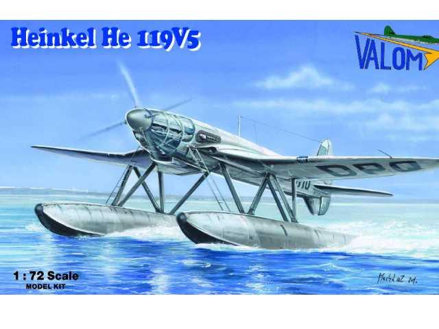 Valom 1/72 72111 Heinkel He-119V-5 Float Plane