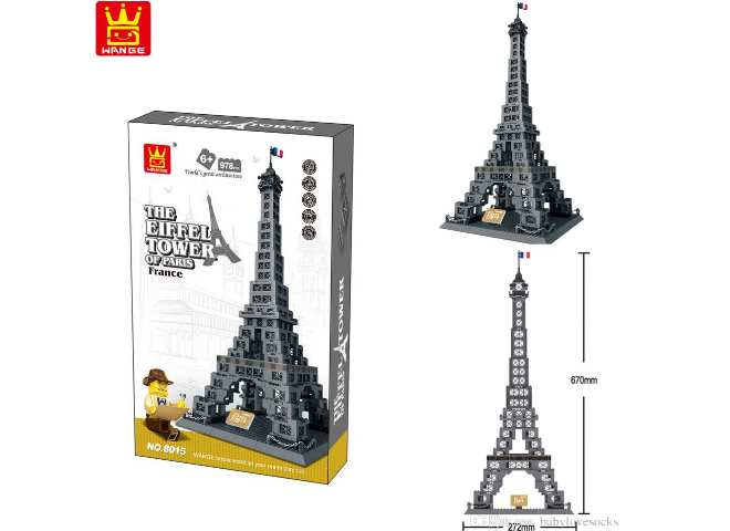 The Eiffel Tower 978pcs - Compatible Building Blocks