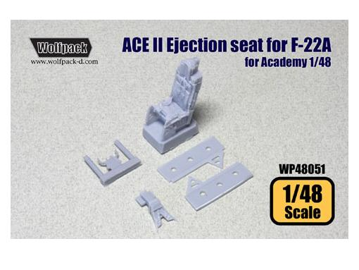 ACE II Ejection seat for F-22A (for Academy)