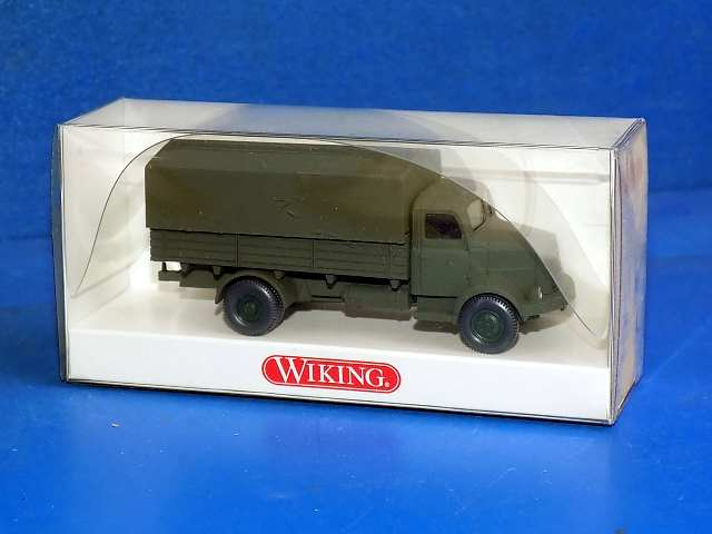 Wiking German Army Henschel HS100 Covered Truck