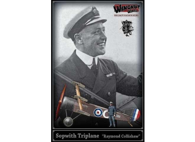 Wingnut Wings 1/32 32607 Sopwith Triplane - Raymond Collishaw