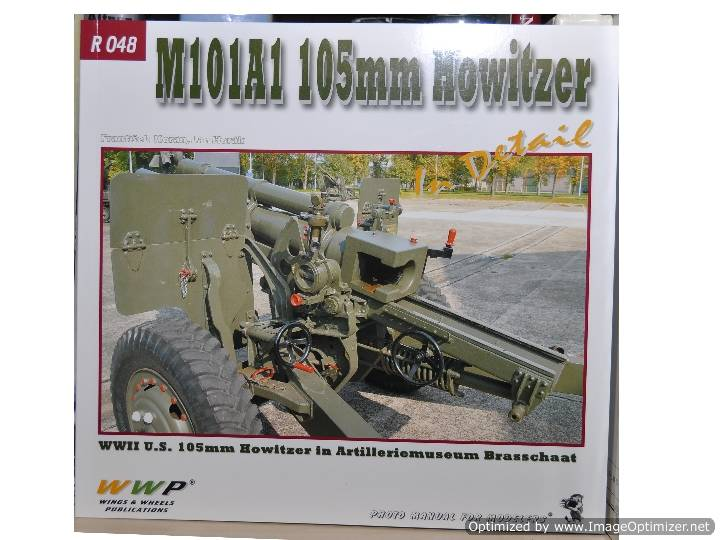 M101 105mm Howitzer In Detail