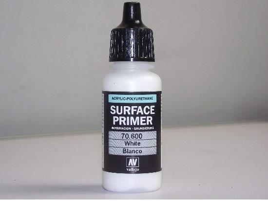 Vallejo White Surface primer
